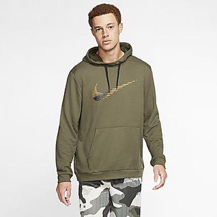 Gris Modern Con Sudadera Jaspeado Aquí Nike Capucha