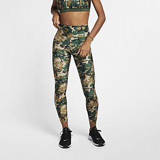 NIKE FLEECE CAMO Pants Herren Trainings Hose Camouflage