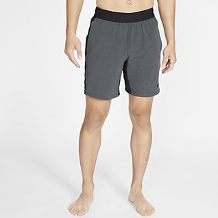 Nike Printed 9inch Distance Short Herren black