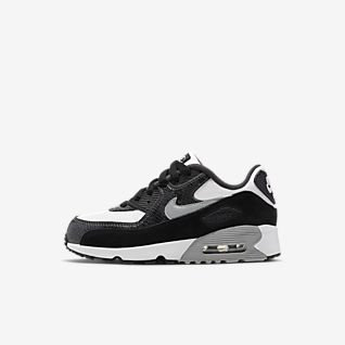 Nike Air Max 90 Leather GS shoes white black red WeAre Shop  WeAre Shop
