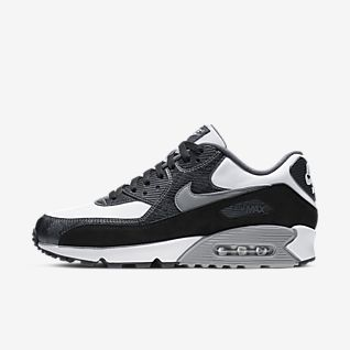 Shop Nike Mens Air Max 90 Essential Black Online | Platypus