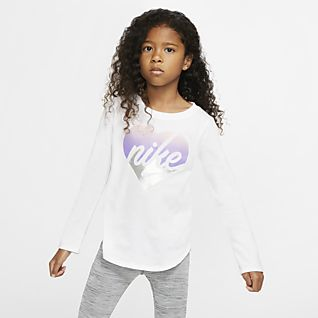 Girls\u0027 Long Sleeve Shirts. Nike.com