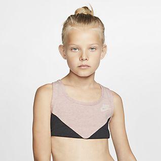 online store c260d 061bc Mädchen Sport-BHs. Nike.com DE
