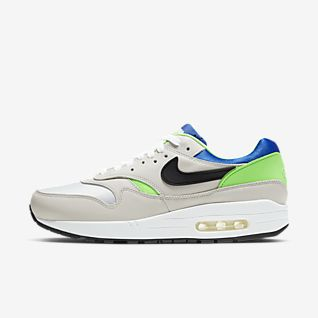 Nike Air Max 1 shoes white pink