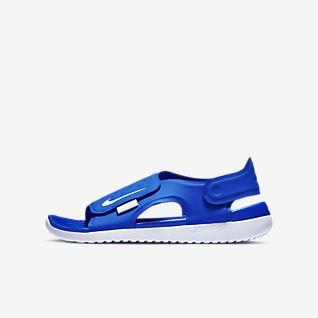Nike SUNRAY ADJUST JUNIOR Schwarz Rose Schuhe Sandalen