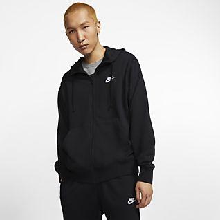 Schwarz Hoodies & Sweatshirts. Nike LU