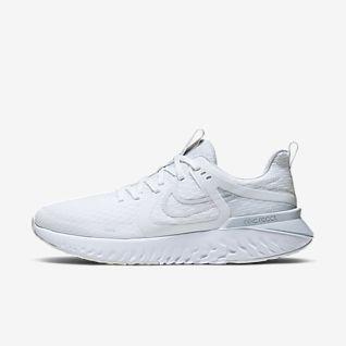 Herren Weiß Running Schuhe. DE