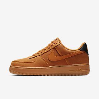 Nike Air Force 1 '07 LV8 Style Basketball Sneakers für Herren in orange