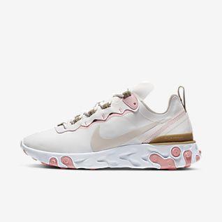 Damskie buty w kratę Nike React Element 55