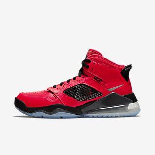 Nike Air Max Jordan 4 Schuhe Schwarz Rot Verkaufen : Herren