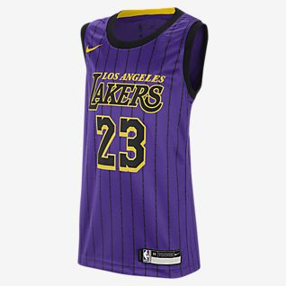 new product 7d551 a5917 Girls' LeBron James Tops & T-Shirts. Nike.com