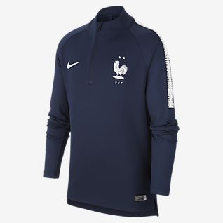 Jacke Frankreich Fussball 2016 2017 Nike Core Trainer fur Kinder