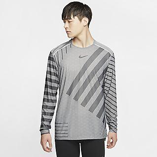 nike dri fit knit long sleeve running shirt, Free 3.0 V3