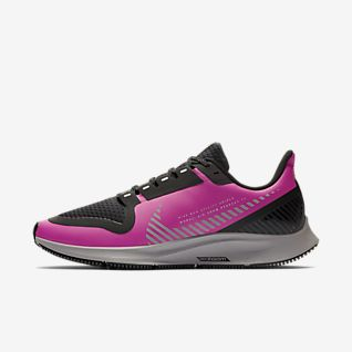 Damenschuhe Nike grau pink