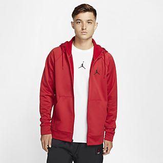 Jordan Rouge Sweats à capuche et sweat shirts. Nike FR
