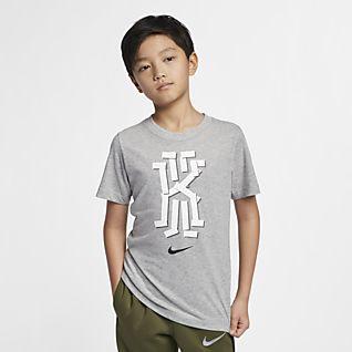 new product f8056 b6793 Boys' Kyrie Irving Tops & T-Shirts. Nike.com