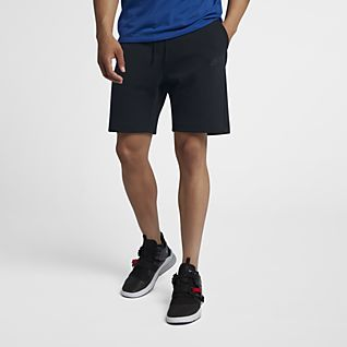 Nike Black Air Max Fleece Shorts for men