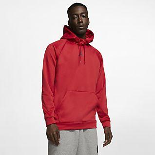 Rouge Sweats à capuche et sweat shirts