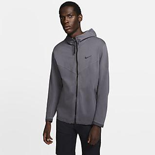 Felpa con cappuccio e zip a tutta lunghezza Nike Sportswear Tech Fleece Ragazzo Grigio nike grigio Autunno
