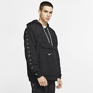 a2bfb9f1d0044 Men's Hooded Woven Jacket. 2 Colors. $150. Nike Sportswear Swoosh