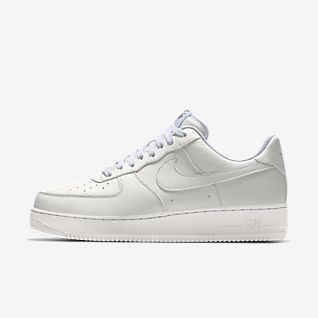 Damen Nike By You Air Force 1 Schuhe. LU
