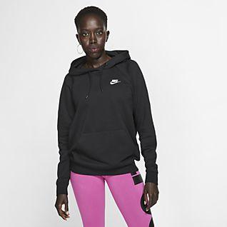 Nike Womens Size Medium Therma Fit Zip Up Fleece Jacket Zipped Pockets Black | eBay