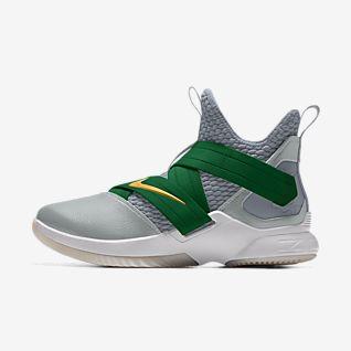 the latest b31d3 81609 Green Lebron James Shoes. Nike.com LU