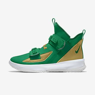 online retailer 4ca75 729bf Green LeBron James Shoes. Nike.com AE