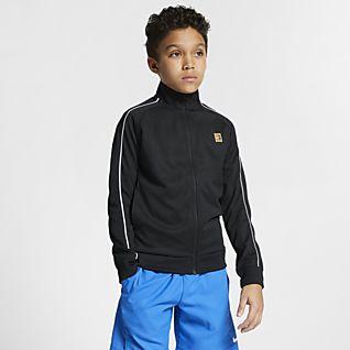 Enfant Tennis Vestes et vestes sans manches. LU