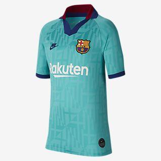 Nike 2018/19 FC Barcelona Stadium Away Costume da Calcio Bambino ...