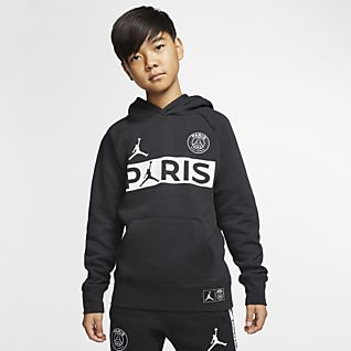 Garçons Jordan Sweats à capuche et sweat shirts. Nike LU