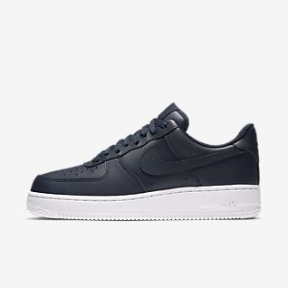 nike air Force 1 hvid kongeblå