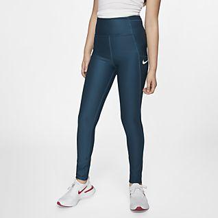 57a6c89b7a3 Girls' Tights & Leggings. Nike.com