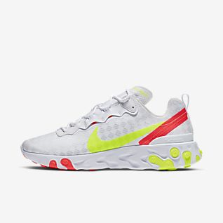 Nike React Element 55 Zapatillas a cuadros Mujer