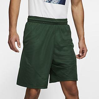 Neu Nike Grün Schwarz Sport Shorts Herren Online