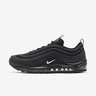 Details about Nike AIR MAX 97 OG TRIPLE BLACK ANTHRACITE QS sz 12 BRAND NEW RARE EURO RELEASE