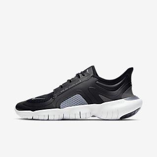 Køb Nike Free RN 5.0 Shield til Dame i Sort,Mørkegrå