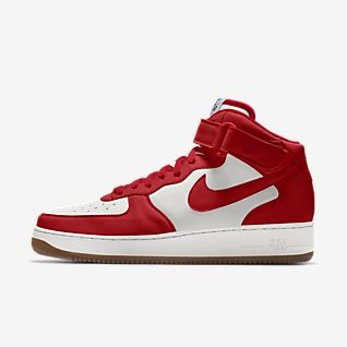 NIKE AIR FORCE one high in weiß EUR 13,00 | PicClick DE