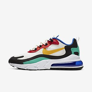 nike chaussures tricolore homme en toile
