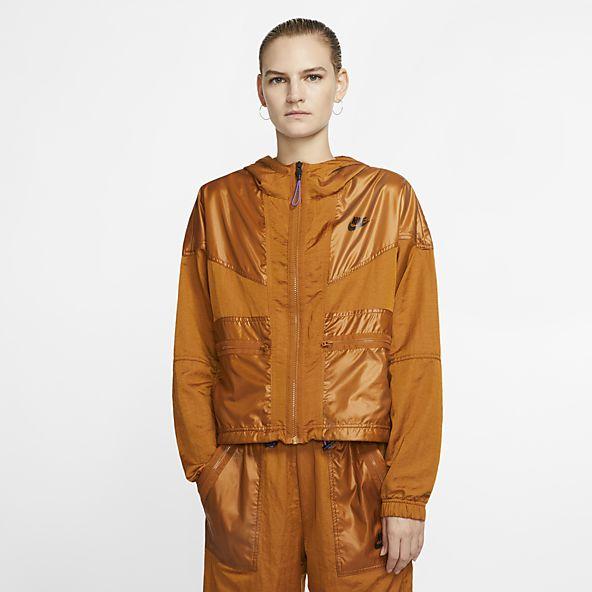 Burnt sienna Nike shell suit Windrunner