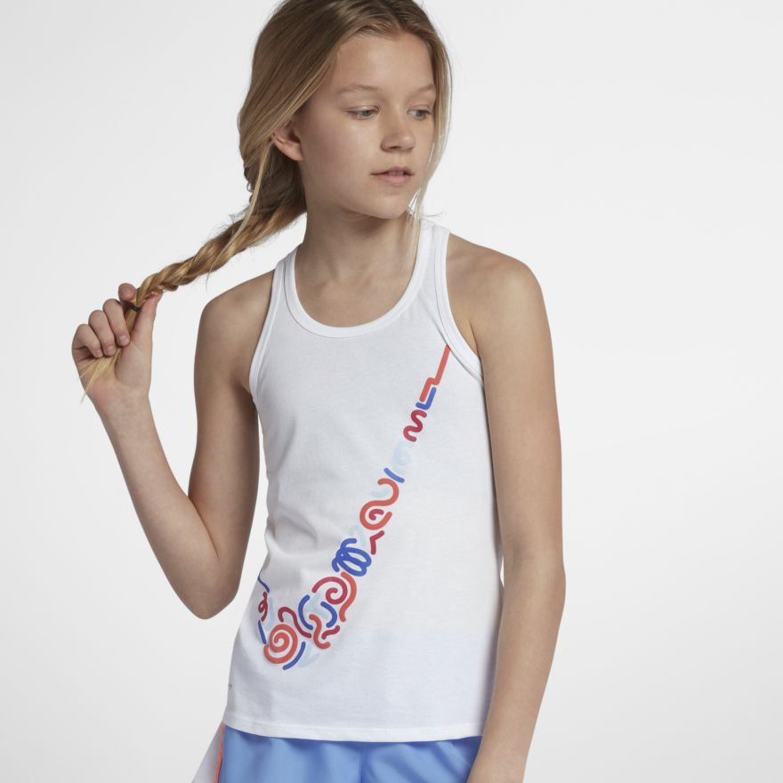 Nike Big Kids Tank Dri-FIT