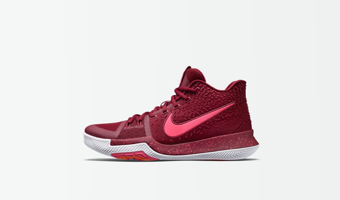 kyrie 3 shoes pink