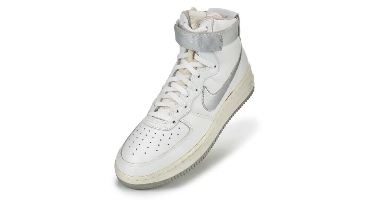 Nike Air Force 1 Mid Vita | Nike Basketskor Barn(4 6) | Nike
