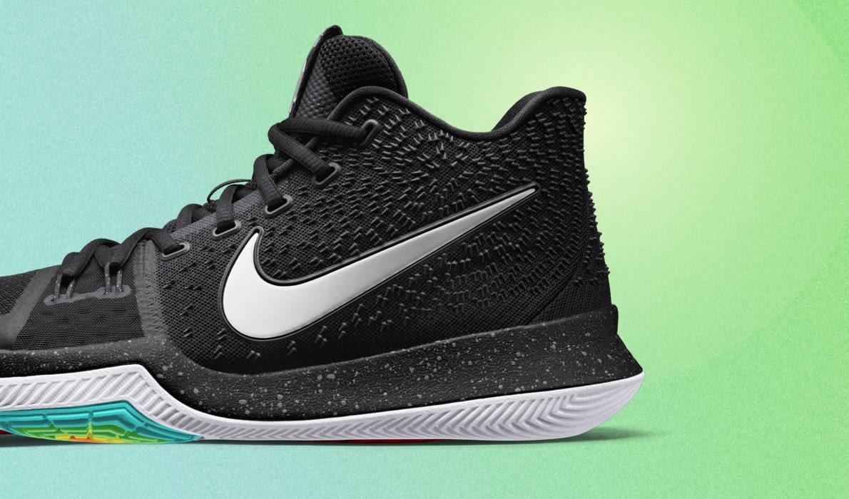 Nike Kyrie 3 Aqua Aqua Black