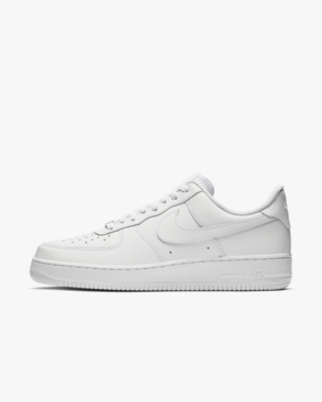 2zapatillas nike air force 1 mujer negras