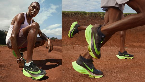 Alphafly NEXT%. Nike PT