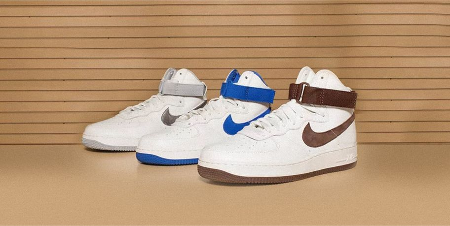 nike air force 1 high with suite