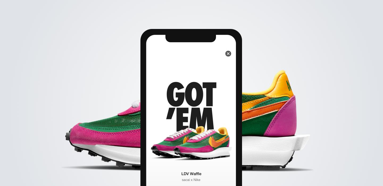 Nike SNEAKRS App. Nike DE