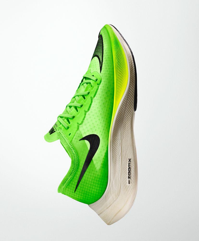 Nike tennis shoe close to the Nike