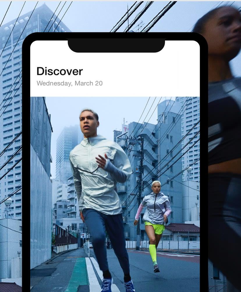 Nike Alkalmazás. Nike HU